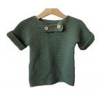"Green Sweater ""Petit matelot"""
